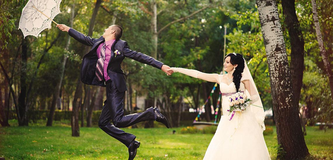 Romantische kanten paraplu's