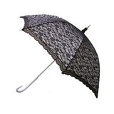 Kanten witte paraplu_