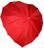 rode hart paraplu
