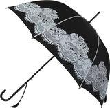 Zwarte kanten paraplu_