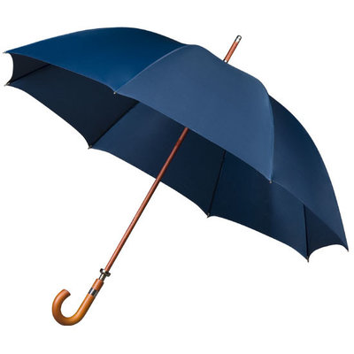 Luxe golfparaplu met haak - Donkerblauw