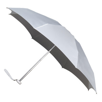 miniMAX® opvouwbare paraplu Wit 17cm