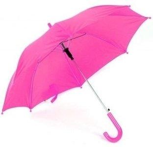 kinderparaplu roze