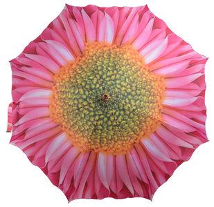 Paraplu Roze Bloem