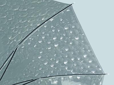 Happy Rain transparante paraplu - Giraffe