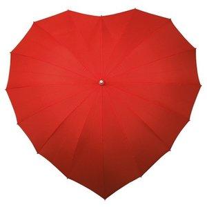 rode hartparaplu