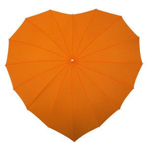 oranje hartparaplu