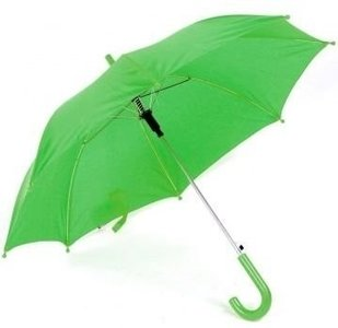Groene kinderparaplu